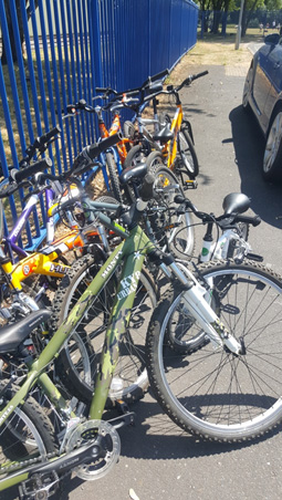 beacon PRU bikes ready to help pupils experience the benefits of cycling for children