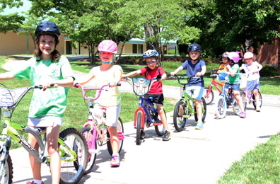 childrens bike coaching